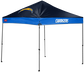 A Los Angeles Chargers 9'x9' straight leg canopy image number null