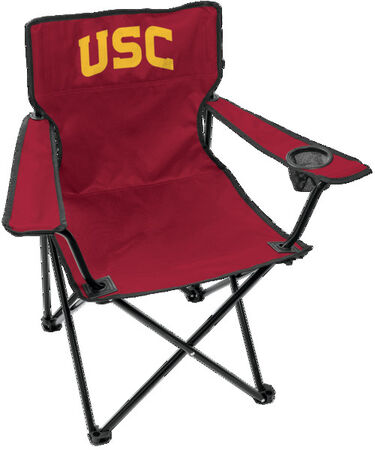 Front of Rawlings Cardinal NCAA USC Trojans Gameday Elite Chair With Team Logo SKU #00563100111
