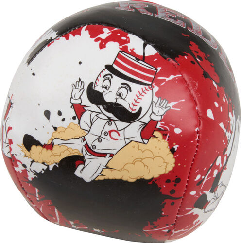 Rawlings Cincinnati Reds Quick Toss 4'' Softee Baseball With Team Mascot On Front In Team Colors SKU #01320023113