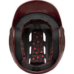 Velo Junior Batting Helmet Cardinal