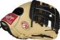 Camel thumb of a Gameday 57 Series Brandon Crawford 11.5-inch Pro Preferred glove with a black H-web - SKU: PRO204-BC35 image number null
