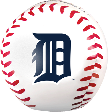 MLB Detroit Tigers Big Boy 8 in Softee Baseball