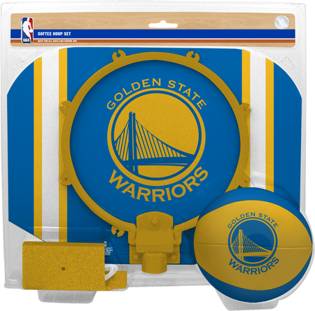 NBA Golden State Warriors Softee Hoop Set