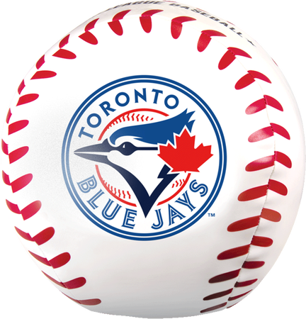MLB Toronto Blue Jays Big Boy 8 in Softee Baseball