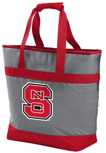 Rawlings North Carolina State Wolfpack 30 Can Tote Cooler In Team Colors With Team Logo On Front SKU #07883041111