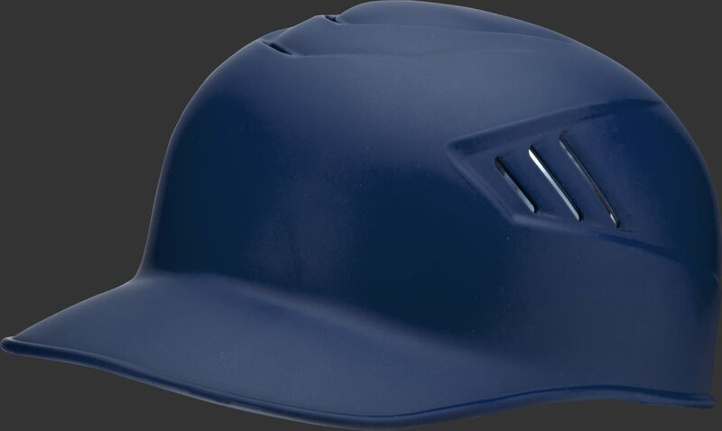 A matte navy CFPBHM adult Coolflo base coach helmet
