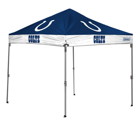 NFL Indianapolis Colts 10x10 shelter with team logos and colors