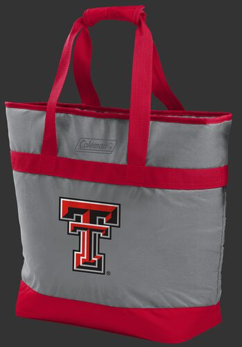 Rawlings Texas Tech Red Raiders 30 Can Tote Cooler In Team Colors With Team Logo On Front SKU #07883063111