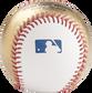MLB stamp on a gold/white MLB baseball- SKU: RSGEA-ROMLBG/W-R image number null