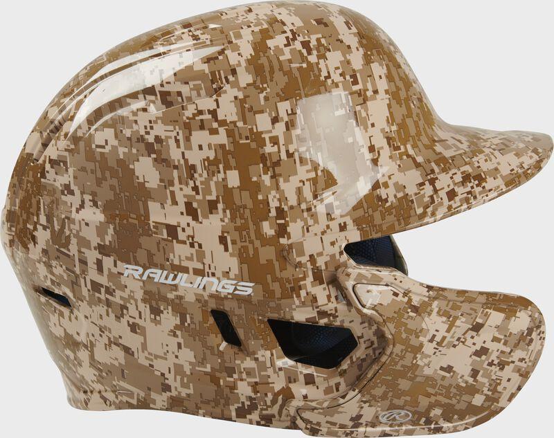 Mach EXT Digi Camo Hydro Dipped Helmet | Left Handed Batter