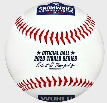 2020 Los Angeles Dodgers World Series Champions Replica Baseball