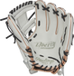 RLA715SB-2RG Rawlings Liberty Advanced Color Series glove with a white palm, white web and black laces image number null