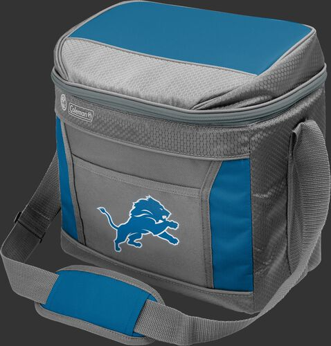 Rawlings Detroit Lions 16 Can Cooler In Team Colors With Team Logo On Front SKU #03291067112