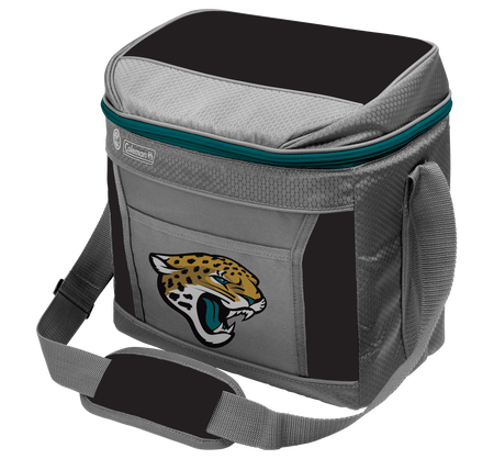 Rawlings Jacksonville Jaguars 16 Can Cooler In Team Colors With Team Logo On Front SKU #03291091111