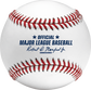 Official ball of Major League Baseball stamp on a Hall of Fame baseball - SKU: ROMLBHOF image number null