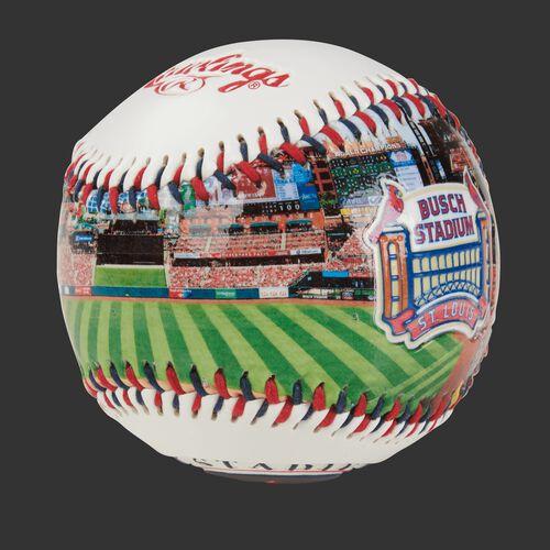 Stadium picture of a St. Louis Cardinals stadium baseball