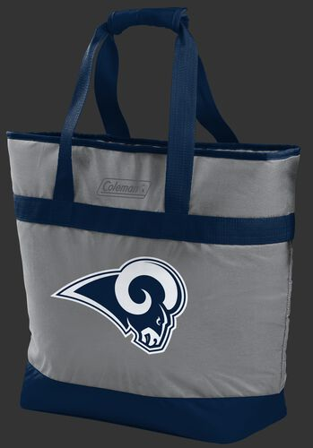 Rawlings Los Angeles Rams 30 Can Tote Cooler In Team Colors With Team Logo On Front SKU #07571073111
