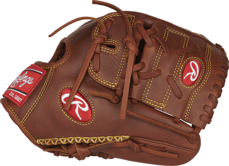 PRO205-9TIFS Heart of the Hide 11.75-inch glove with a timberglaze two-piece solid web and hand-sewn welting on the thumb