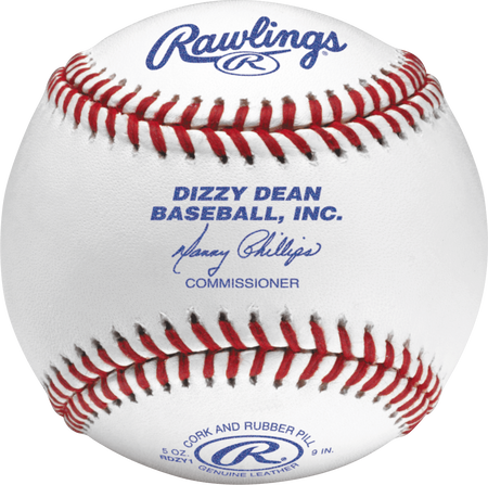 RDZY1 Dizzy Dean youth competition grade baseball with raised seams