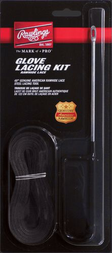 Rawlings Black Glove Lace Kit With Feeding Needle SKU #GLK-B