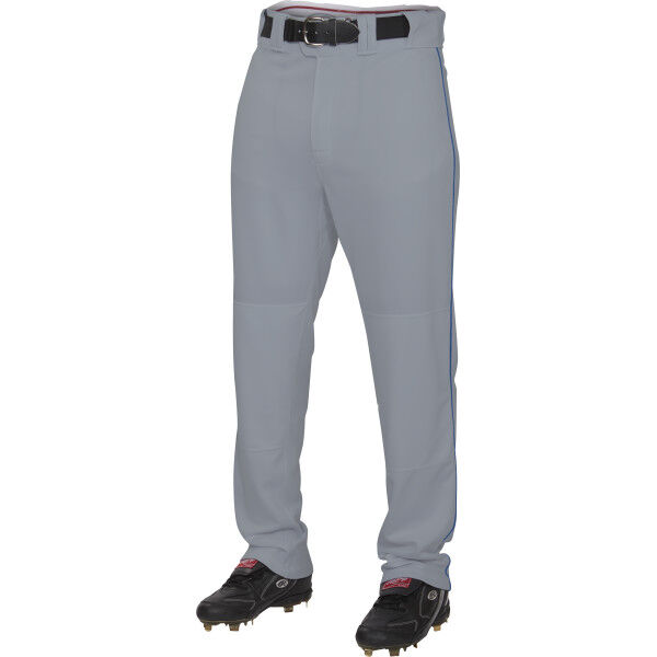 Adult Semi-Relaxed Piped Pant Blue Gray/Navy