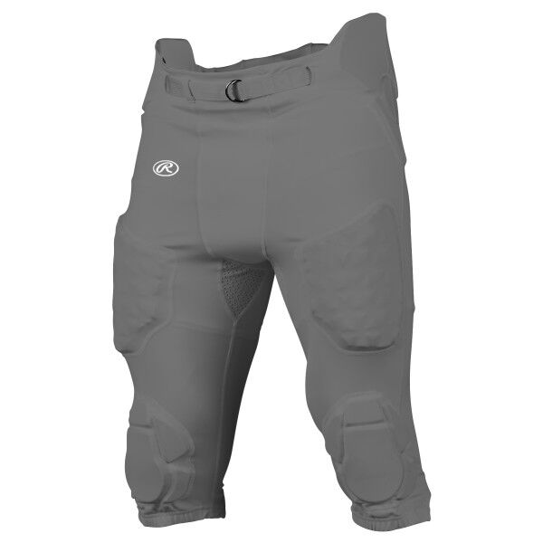 Youth Integrated Football Pant Gray