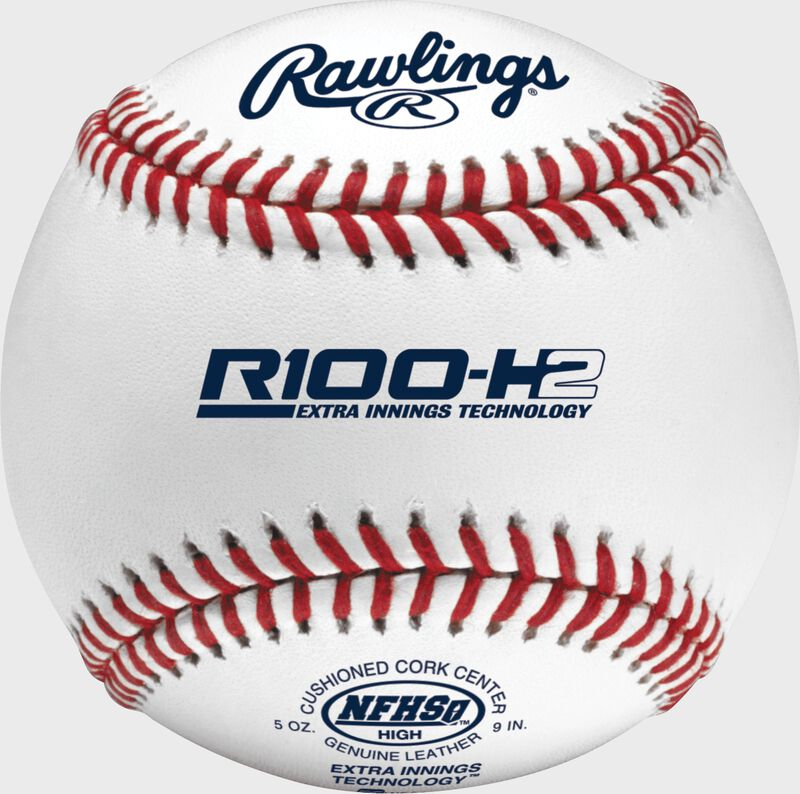 R100-H2 NFHS Official High School baseball with NFHS logo