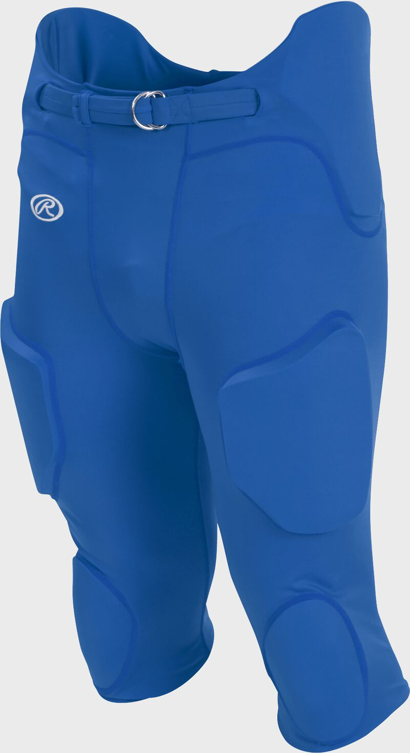 Front of Rawlings Royal Adult Lightweight Football Pants - SKU #FPL