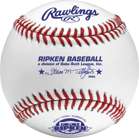 RCAL1 Cal Ripken youth competition grade baseball with raised seams