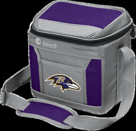 NFL Baltimore Ravens 9 Can Cooler