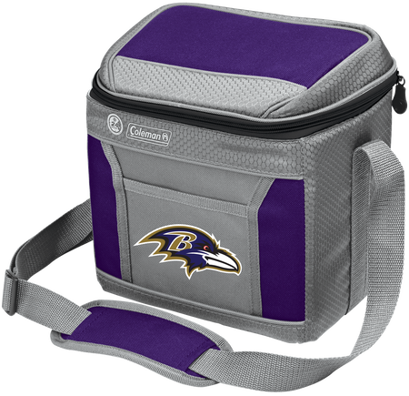 NFL Baltimore Ravens 9 Can Cooler