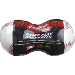 24 Pack Youth 10U Game Play Baseballs