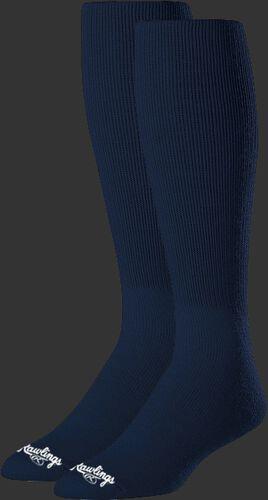 SOC-NVY Navy high length socks