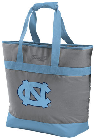 Rawlings North Carolina Tar Heels 30 Can Tote Cooler In Team Colors With Team Logo On Front SKU #07883092111