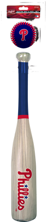 MLB Philadelphia Phillies Bat and Ball Set