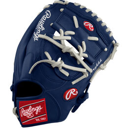 Grey/Blue Custom Glove