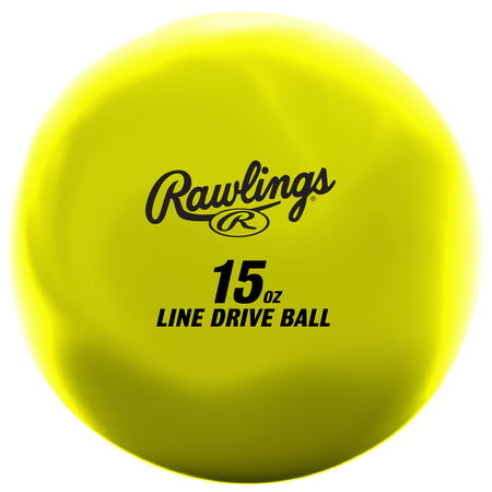 LDBALL yellow line-drive training ball