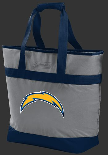 Rawlings Los Angeles Chargers 30 Can Tote Cooler In Team Colors With Team Logo On Front SKU #07571083111