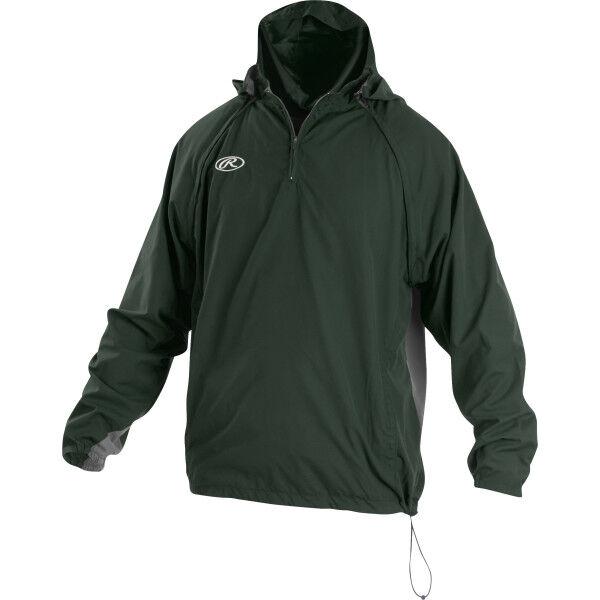 Youth Long/Short Sleeve Jacket Dark Green
