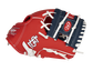 Thumb of a red St. Louis Cardinals 10-Inch team logo glove with a navy I-web and STL logo on the thumb - SKU: 22000007111 image number null