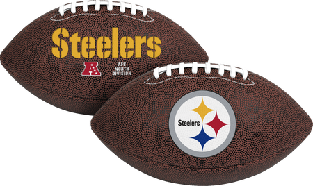 NFL Pittsburgh Steelers Air-It-Out youth football with team logo