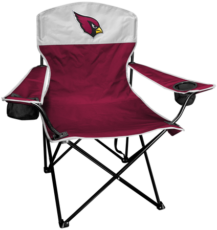 NFL Arizona Cardinals Lineman chair with team colors and logo on the back