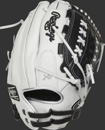 RLA125-18BP 12.5-inch Liberty Advanced outfield/pitcher's glove with platinum binding/welting and adjustable pull-strap back