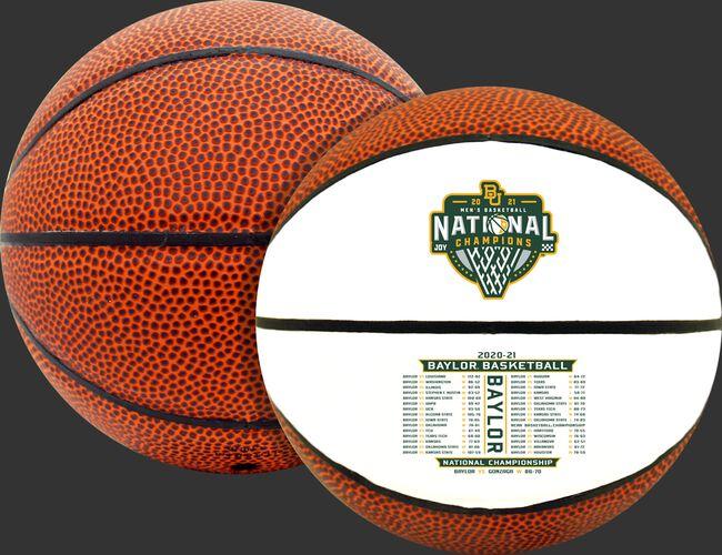 A 2021 NCAA Baylor Bears National Champions mini basketball - SKU: 04533040733