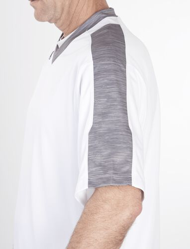 Adult Short Sleeve Launch Jersey White/Gray
