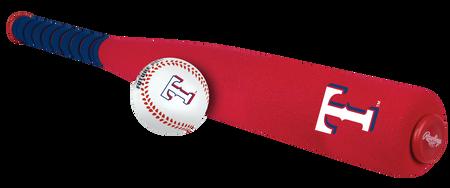 MLB Texas Rangers Foam Bat and Ball Set
