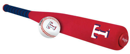 MLB Texas Rangers Foam Bat and Ball Set