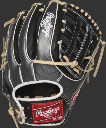 PRO315-6BCF Heart of the Hide infield glove with a Hyper Shell back and white double-welting