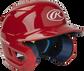 Mach Junior Tone-on-Tone Matte Helmet Scarlet