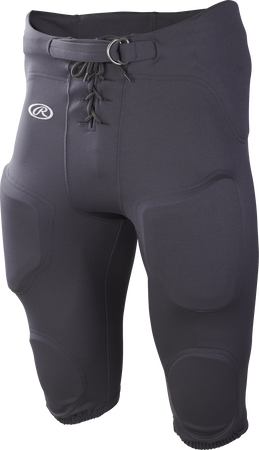 Gray FPPI Adult Lightweight Polyester football pants
